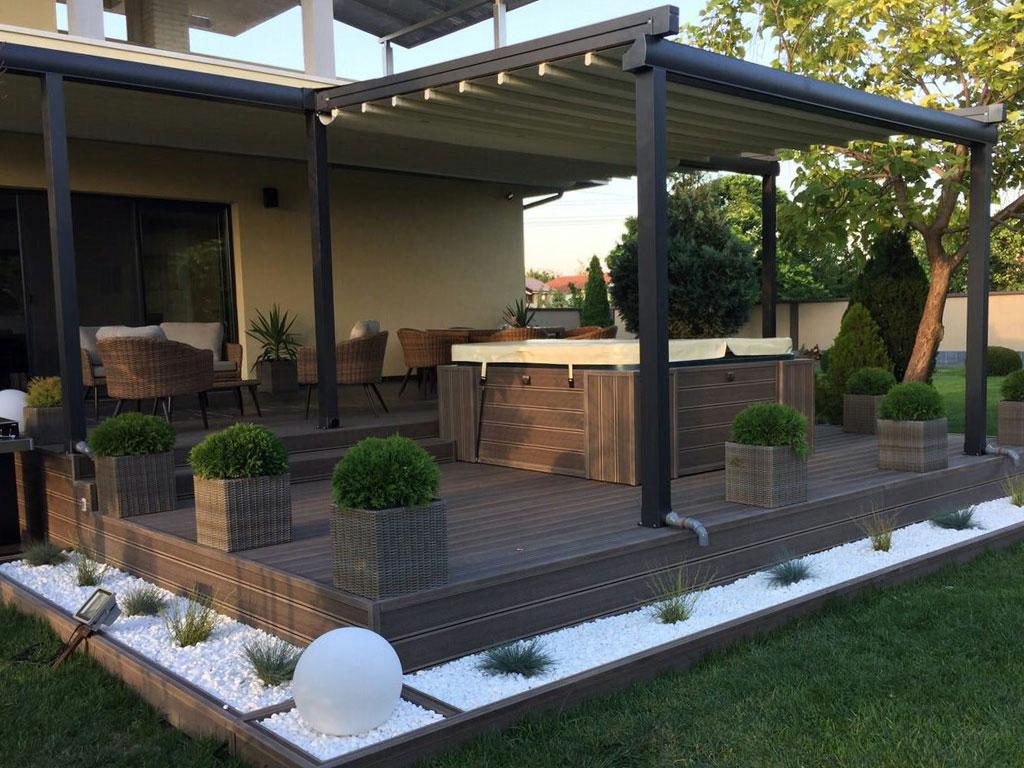 pergomax zonwering van sunrise zonwering. Black Bedroom Furniture Sets. Home Design Ideas